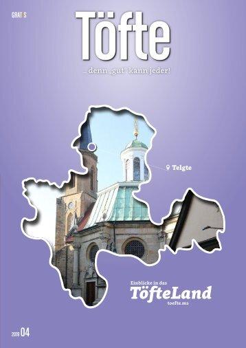 Töfte Regionsmagazin 04/2019 - Willkommen in Telgte