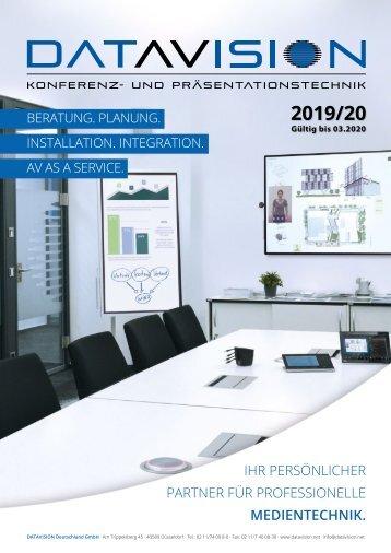 Produktkatalog_DataVision_2019_2020