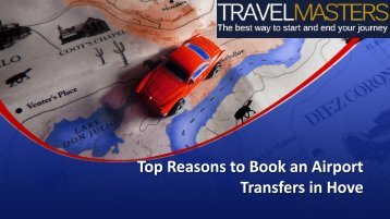 Top Reasons to Book an Airport Transfers in Hove