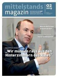 Mittelstandsmagazin 02-2019