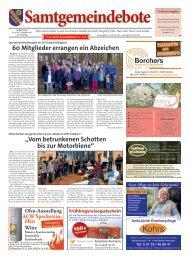 Samtgemeindebote 19.04.2019