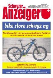 Schwyzer Anzeiger – Woche 16 – 18. April 2019