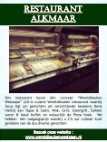 Restaurant Purmerend - Page 5