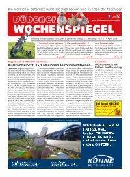 Dübener Wochenspiegel - Ausgabe 07 - Jahrgang 2019
