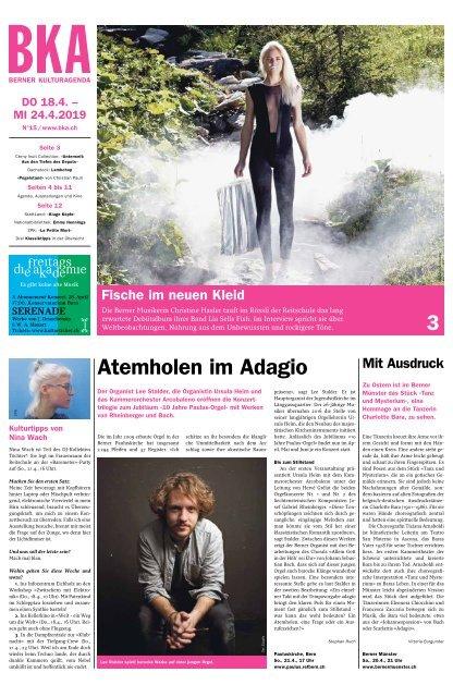 Berner Kulturagenda N°15