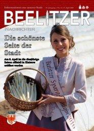 Beelitzer Nachrichten - April 2019