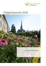 Tätigkeitsbericht Paracelsus-Spital Richterswil 2018