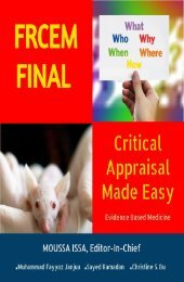 Critical Appriasal eBook (Preview)