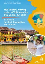 Hoi An 2019 - Program Book