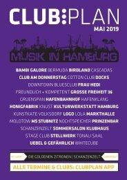 Clubplan Hamburg - Mai 2019