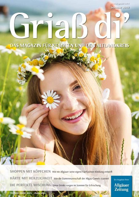 Griaß di'-Magazin Sommer 2019