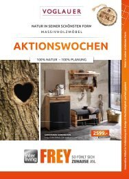 Interliving FREY - Voglauer Aktionswochen April 2019