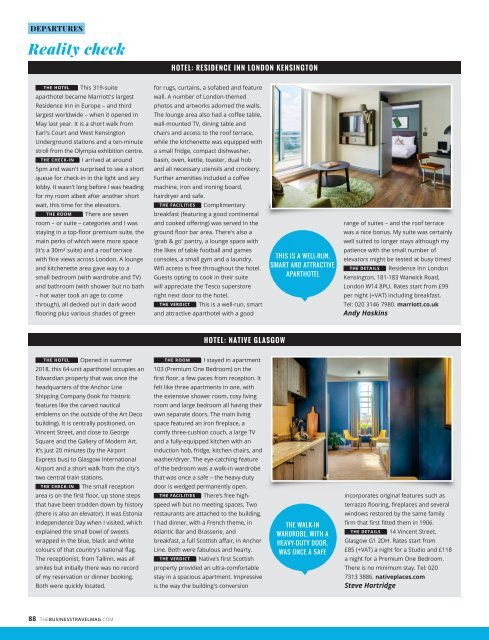 The Business Travel Magazine April/May 2019