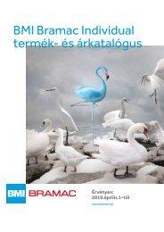 Bramac Individual árlista 2019