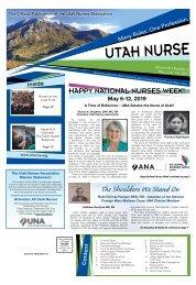 Utah Nurse - May 2019