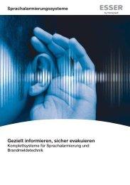Perfekte Symbiose: Sprach- alarmierung und Brandmeldetechnik