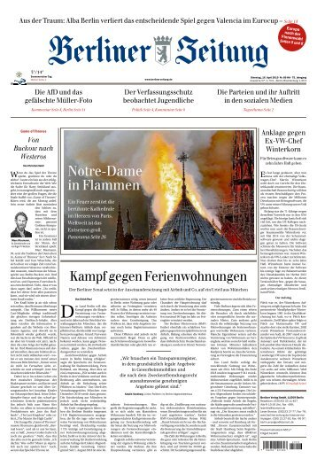 Berliner Zeitung 16.04.2019