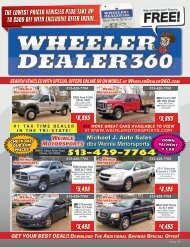 Wheeler Dealer 360 Issue 16, 2019