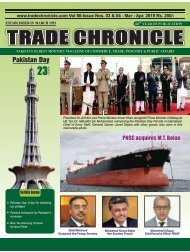Trade Chronicle MAR APR 19