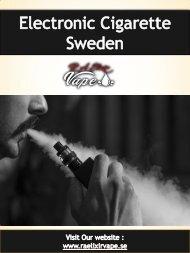 Electronic Cigarette Sweden