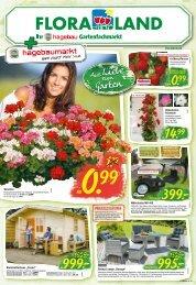 Floraland Hagebaumarkt KW 16