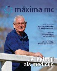 Máxima Magazine maart 2019 Je leefstijl als medicijn