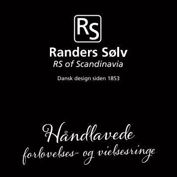 Randers Sølvs håndlavede forlovelses- og vielsesringe