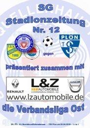 TSV  Stadionzeitung 12-Plön-220419