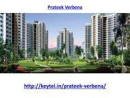 Prateek Verbena apartments Sector 150 Noida