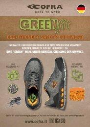 COFRA Sicherheitsschuh Reihe GREEN FIT