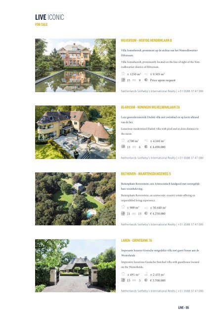 LIVE ICONIC - Sotheby's International Realty Netherlands