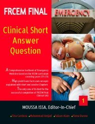 FRCEM FINAL Clinical SAQ eBook 1(Preview)