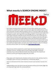 2 Search engine Meekd