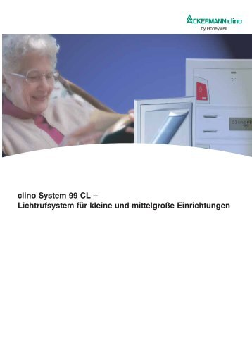 clino System 99 CL - Honeywell Life Safety Austria and