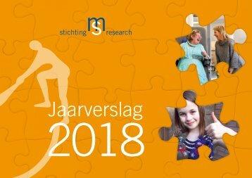 MSR jaarverslag 2018