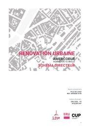 Résumé non technique de la rénovation urbaine du quartier d'Amercoeur