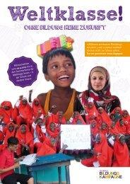 Weltklasse! Ohne Bildung keine Zukunft