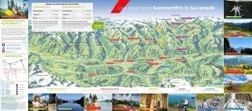 Ski amadé Sommerfolder 2019