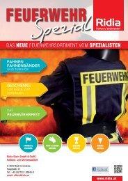 Feuerwehr Katalog von Ridia Fahnen- und Vereinsbedarf