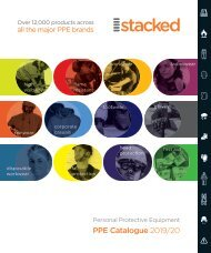 Stacked Personal Protective Equipment Catalogue 2019/20
