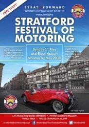 Stratford Festival of Motoring Brochure 2019