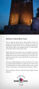 Round Rock Visitors Guide - Page 2