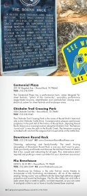 Round Rock Visitors Guide - Page 4