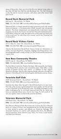 Round Rock Visitors Guide - Page 7