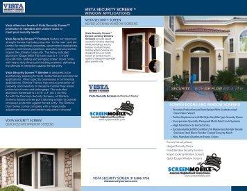 Vista Brochure