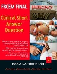 FRCEM FINAL Clinical SAQ ebook 2 (Preview)