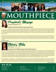 VERSION 1 - 2019 Spring SMCDS Mouthpiece Newsletter