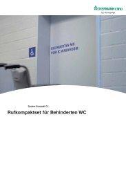 Rufkompaktset für Behinderten WC - Honeywell Life Safety Austria ...