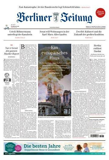 Berliner Zeitung 17.04.2019