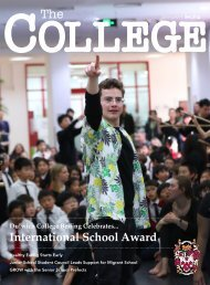 Dulwich College Beijing - The College Magazine Spring 2019
